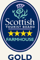 Scottish Tourist Board 4 star GOLD Famhouse rating